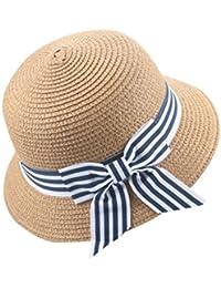 Sombrero del Sol del Verano De Los Niños AIMEE7 Sombrero De Copa del  Sombrero De Paja 26aa6bf3b34