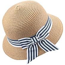 Sombrero del Sol del Verano De Los Niños AIMEE7 Sombrero De Copa del  Sombrero De Paja e0457591f15