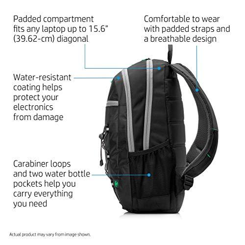 HP Active 15.6-inch Laptop Backpack (Black) Image 6