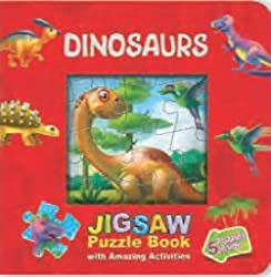 Dinosaurs Jigsaw Puzzle Book Window