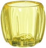 Villeroy & Boch Teelicht, Kristall, Gelb, 7.7 x 7.7 x 8.5 cm