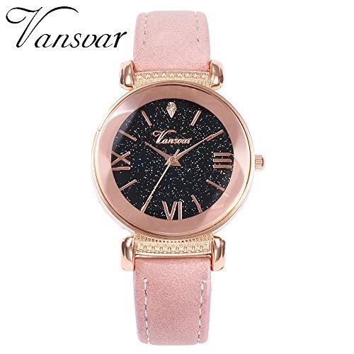 TianWlio Armbanduhren Damen Mode Frauen Mode Mesh Uhren Damen Uhren Beiläufig Quarz Analog Uhren Geschenk