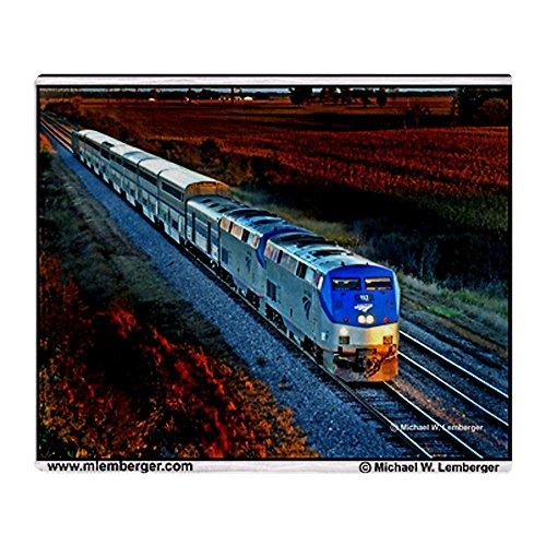 cafepress-xrr-amtrak-in-sunset-2005-motor-uberwurf-decke-standard