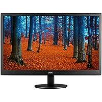 AOC E970SWN LED display - Monitor (46,99 cm (18.5), 5 ms, 200 cd / m², Negro, Kensington, 100 x 100 mm)