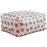 vahome - Bolsas de almacenamiento para ahorro de espacio (grande, con doble cremallera), algodón, beige, 60*50*28cm