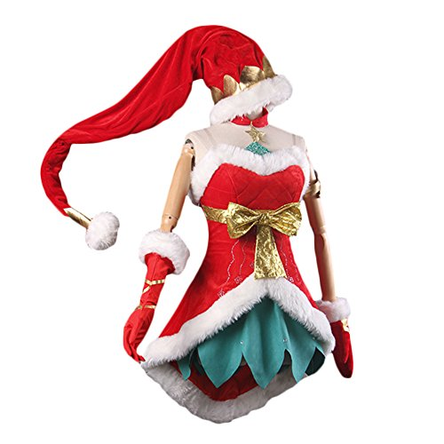 Kostüm Mädchen Jinx - Mesky Jinx Cosplay Costume Christmas Dress Girls Outfit for Women Party