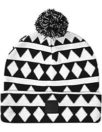 Bonnet Beanie Circle White - Unkut
