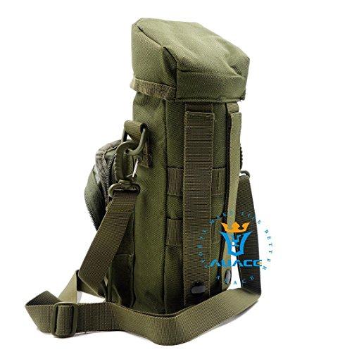 Multifunzione Survival Gear Pouches Molle Tactical-Borsa marsupio  Borraccia 44074ce4b6f