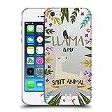 Head Case Designs Lama Seelen Tiere Abbildungen Soft Gel Hülle für iPhone 5 iPhone 5s iPhone SE