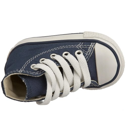 Converse Kinder All Star Hohe Sneakers Blau (Marine)
