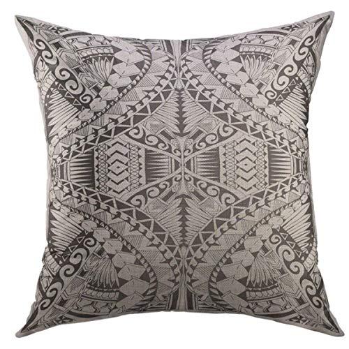 09 Home Rugby (Mugod Dekorativer Überwurf-Kissenbezug Arabesque Indischen Floral Paisley Medaillon Muster Ethnische Mandala Henna Tattoo Style Färben Book Kissenbezug für Home Couch Decor 18x18 inch Muster 09)