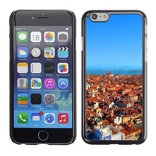Graphic4You Manarola Italy Postkarte Ansichtskarte Design Harte Hülle Case Tasche Schutzhülle für Apple iPhone 6 / 6S Venice #3