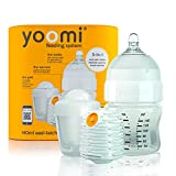 Yoomi - Set biberon e scaldabiberon, 3 in 1, 140 ml