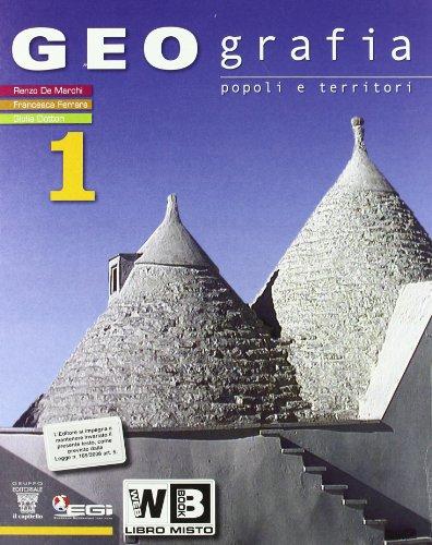Geografia. Con atlante. Con espansione online. Per la Scuola media. Con DVD-ROM: 1