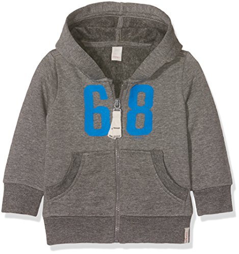 ESPRIT Baby-Jungen Strickjacke RK17032, Grau (Heather Grey 203), 80