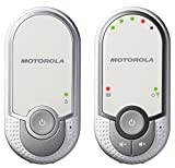 Motorola MBP 11 - Baby monitor audio digitale plug-n-go con modo eco, bianco