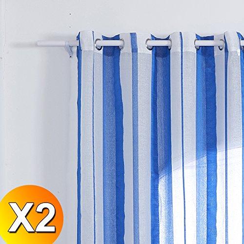2x-cortinas-visillos-ojetes-rayas-modernas-decoracion-ventanas-salon-habitacion-dormitorio-hogar-est