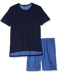 Hom Flowers Short Sleepwear, Ensemble de Pyjama Homme