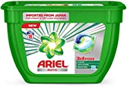 Ariel Matic 3in1 PODs Liquid Detergent Pack 18 Count for Both Front Load and Top Load Washing Machines