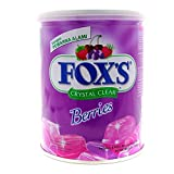 #2: Nestle Fox's Crystal Clear Mix Berries Flavored Candy Tin (Imported), 180g