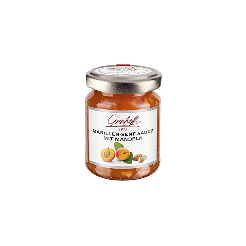 Marillen Senf Sauce Mit Mandeln 125 Gr Grashoff 1872