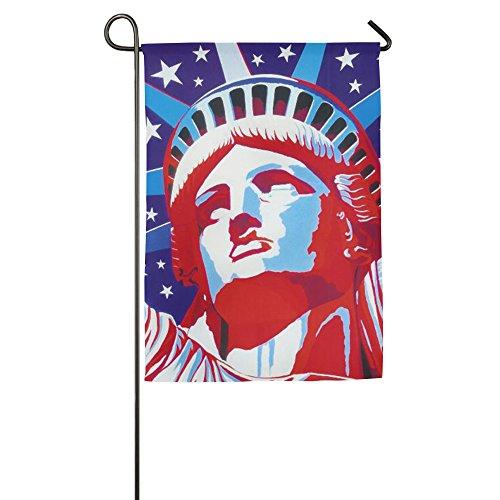 rty House Flaggen, dekorative Flaggen, Outdoor Flaggen, Hof Flagge, Home Flagge, weiß, 30*46 cm ()