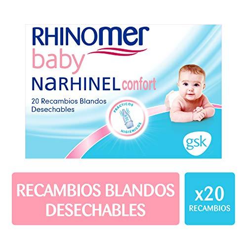 Narhinel Recambios Aspirador Nasal Narhinel Confort - 20 unidades