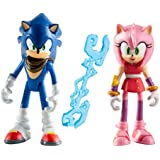 Tomy Sonic Boom - T22031 - Figurine Animation - Sonic et Amy