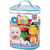 Clementoni - Clemmy Baby Bolsa 48 Bloques (17134.7)