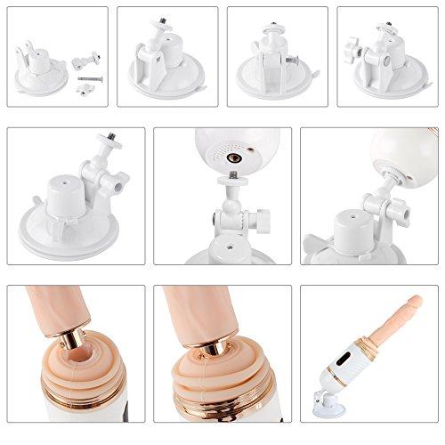 Greenpinecone Damen Sexmaschine Love Machine mit Vibration, automatisch einziehbar, Heizung und Fernbedienung Super Sexspielzeug für Frauen