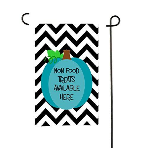 Dose Baum Geschenke Nahrungsmittelallergien Bewusstsein Garten Flagge Blaugrün Kürbis schwarz Chevron