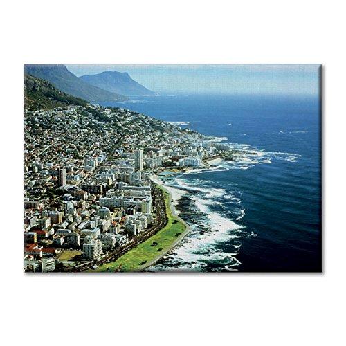 Tela Quadro Canvas Sud Africa Cape Town Veduta Panoramica Sea City Arredamento 100x70