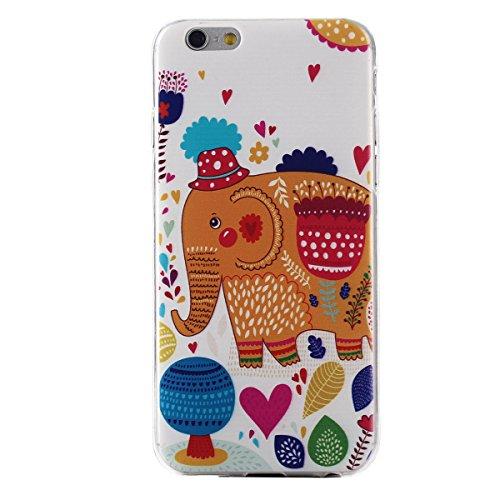 """MOONCASE Etui pour iPhone 6 / 6S (4.7"""") Gel TPU Silicone Case Cover Housse Coque Étui Mi06 Mi12 #1122"""