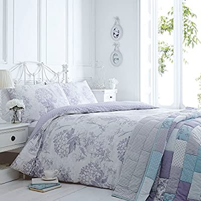 Debenhams Lilac 'Vintage Bird Cage' Bedding Set - low-cost UK light shop.