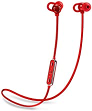 Flybot Boom Deep Bass in-Ear Wireless Bluetooth Earphone with Mic IPX4 Sweatproof - (Red)