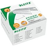 Leitz Power Performance - Punti per cucitrice P4, 26/8 mm, 5000 pezzi, argento