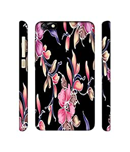 NattyCase Flowers Pattern 3D Printed Hard Back Case Cover for Huawei Honor 4X