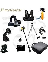Eyes GO 4 LEGEND 4K - Eyes GO 4 LEGEND 4K + - GoPro 4 - Pack XXL- 13 Accessoires pour camera sport -