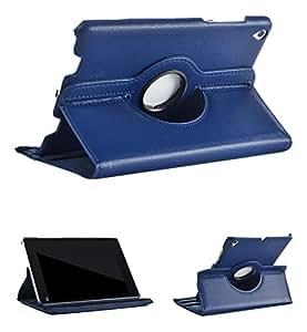 ProElite (TM) 360 Degree Rotatable Flip Case cover for Xiaomi Mi Pad (Dark Blue)
