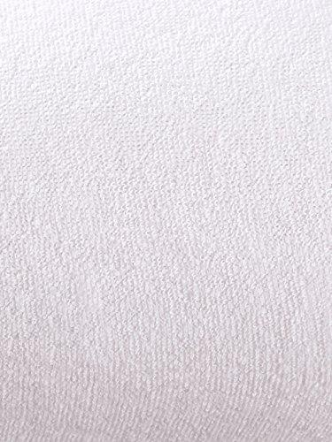 Unisex Frottee-Stretch Spannbettlaken Frottee 180,200x200 by Webschatz weiss