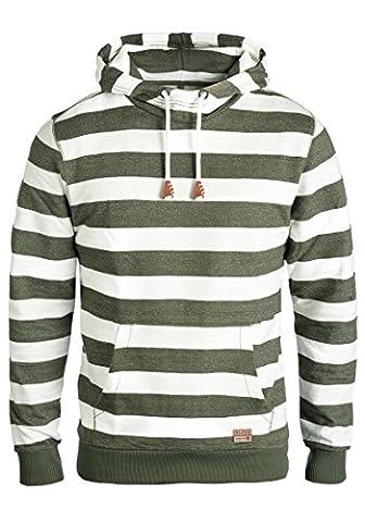 BLEND Crombie - Sweater à capuche- Homme, taille:XL;couleur:Dusty Green (70595)