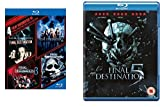 Final Destination 1-5 complete Collection 5 Film Favorites Blu-ray Region free