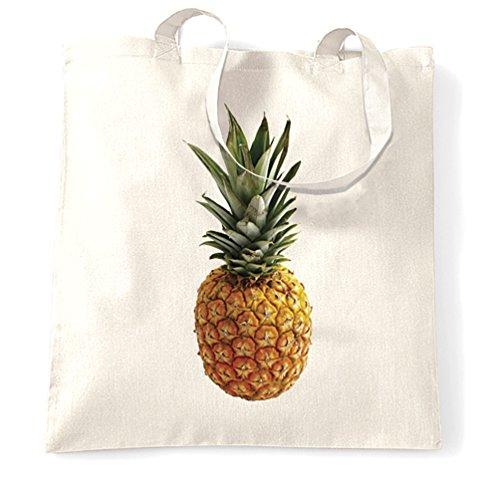 Ananas Estate fruttata matura esotica presente regalo Moda Uomo Sacchetto Di Tote White