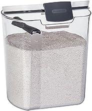 Progressive PKS-100 Flour Storage Prokeeper Containe Food Storage, Clear, 3.7 Liters, Plastic