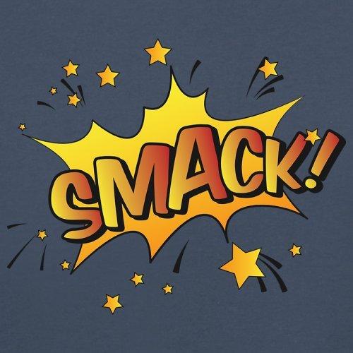 Superheld Smack - Herren T-Shirt - 13 Farben Navy