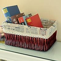 cestello/ rattan scatola di immagazzinaggio/Cestino di detriti desktop snack in cucina-D 27x17cm(11x7inch)
