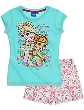Disney El reino del hielo Chicas Pijama mangas cortas 2016 Collection - Blanco