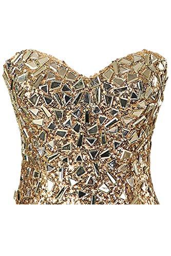 Ivydressing -  Vestito  - Donna Oro