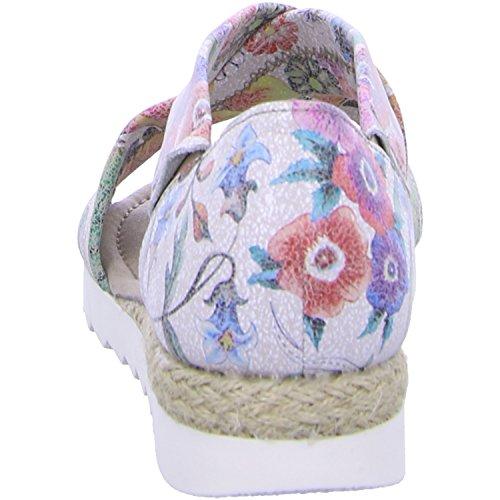 Gabor, Sandali donna multicolore Flower Print multicolor (Jute)