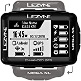 Lezyne Micro Drive Front Light Mega XL GPS Cycle Computer Black